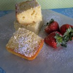 french lemon yogurt cake by JustPinchMe.com